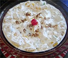 Whipped Cream Fruit Salad