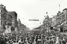 On February 27, 1827, New Orleans holds its first Mardi Gras celebration.    #history #mardigras