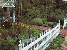 Garden Ideas New England front yard sidewalk-garden ideas: make the most of your space