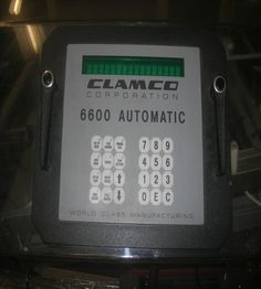 Used clamco 6600 control panel