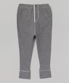 Look at this Encre Stripe Paperplane Knit Pants - Infant on #zulily today!
