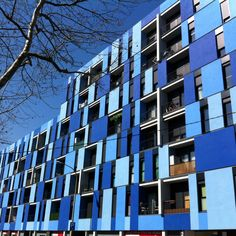 Barcelona, the blue  building in @22