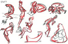 animation news + art Gesture Drawing, Drawing Poses, Drawing Lessons, Life Drawing, Figure Drawing, Drawing Reference, Pose Reference, Drawing Tips, Character Poses