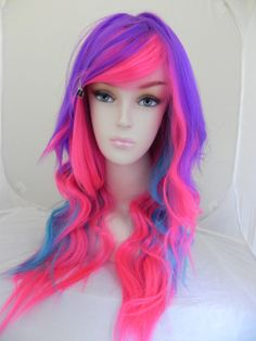 This website has TONS of fun wigs. I want to own this one and wear it when I deliver cakes!!!