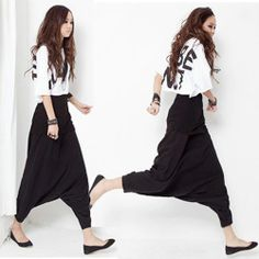 2013 Autumn And Winter Women Korean Style Vintage Fashion loose Casual Loose Hip Hop Harem baggy Pants US $30.00