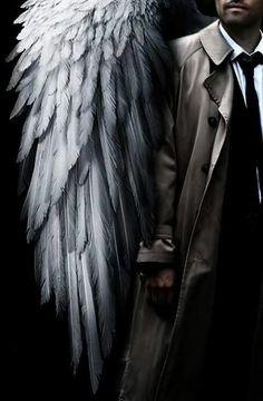 Castiel looking like a boss! Kudos to the artist! <3 #Supernatural fanart #Cas