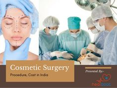 Cosmetic surgery aims to improve a person's appearance, but it should be approached with caution. Cosmetic surgery is a type of plastic surgery. If you want to know more in detail about it, visit given presentation: Types Of Plastic Surgery, Types Of Plastics, Presentation, Skin Care, India, Cosmetics, Tips, Beauty, Detail