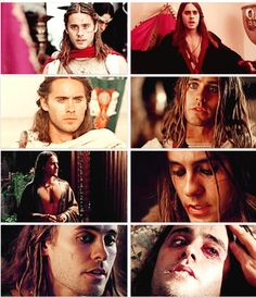 Jared Leto - Hephastian from Alexander. Not a great movie but Jared was really good in it