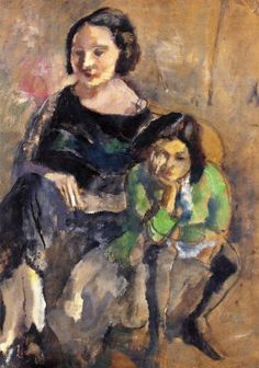 Andrée and Simone. Jules Pascin (1923). Private collection.