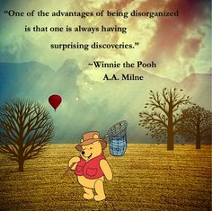 ...having surprising discoveries.