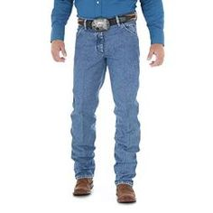 917c24ad Wrangler Men's Premium Performance Cowboy Cut Slim Fit Jean, Stonewashed,  29W x 36L Western