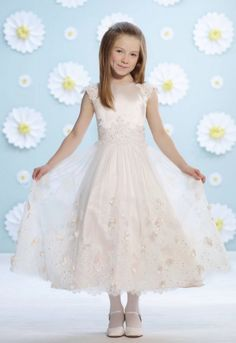 Joan Calabrese for Mon Cheri Flower Girl Dresses - MODwedding
