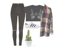 """""""No seriously listen to Weezer's new song"""" by unicorncupcakes ❤ liked on Polyvore featuring River Island and adidas Originals"""