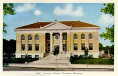 The Laramie County Public Library System was organized in Cheyenne in August of 1886, making Wyoming the first state with a county library system. http://www.cheyenne.org