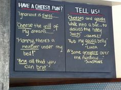 cheese puns - Google Search