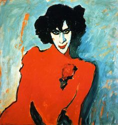 Great art from Art Authority: The Dancer Sacharoff by Jawlensky, Alexei
