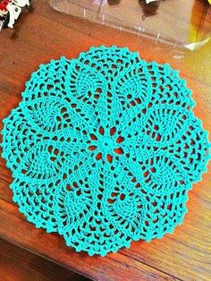 Tecendo Artes em Crochet: Um Amor de Jogo Americano e Uma Toalhinha muito Linda, vem ver!