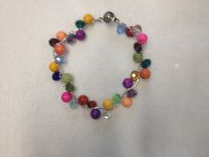 Colorful Beaded Duo Bracelet (E31) on Etsy, $5.00