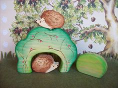 great wooden toys found on Etsy: love these for Em
