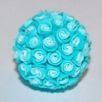 flower ball from clay.