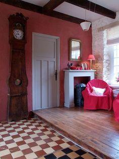 Un salon rose à la déco cosy - Petites maisons dans la prairie en 5 photos - CôtéMaison.fr