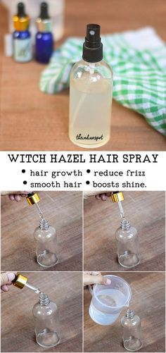 Who doesn't wish to have lustrous, thick and healthy hair? If you aren't naturally blessed with thick hair or if you are suffering from hair issues like hair fall, stunt hair growth, hair breakage etc. its time you try some natural and effective hair remedies that can boost your hair growth and strengthen follicles. Here is an easy DIY essential oil hair spray recipe to start off: BENEFITS: Rosemary essential oil- Rosemary essential oil helps improve blood circulation in the scalp and