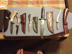 MORE KNIVES