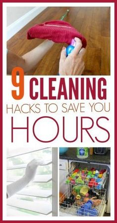 Use these 9 hacks to keep your home clean! These hacks make cleaning so much easier and will save you a lot of time! Don't miss them! Check out these hacks and tips here! #cleaninghacks #cleanhome #cleaningtips #cleaning Deep Cleaning Tips, House Cleaning Tips, Diy Cleaning Products, Cleaning Solutions, Spring Cleaning Tips, Daily Cleaning, 1000 Lifehacks, Clean Baking Pans, Cleaning Painted Walls