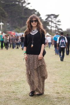 Festival Fashion At Outside Lands-- Tiffanie Debartolo