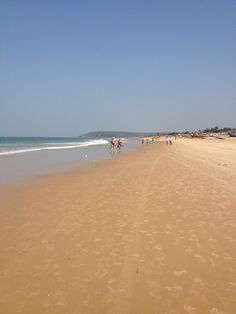 Calangute Beach in North Goa, Goa
