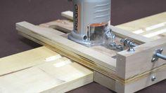 fluting jig #WoodworkingTools