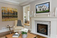 Great Neighborhood Homes - transitional - Family Room - Minneapolis - Great Neighborhood Homes