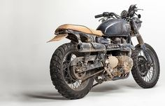 """""""David Beckham's custom Bonneville T100 captured in the studio after a grueling adventure in the Amazon.:"""""""