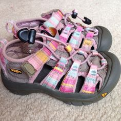 keen Kids girls newport h2 sandals - Size 11 waterproof velcro beach #Keen #Sandals