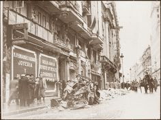 Spain - 1936. - Madrid - Gran via - after Francos Bombardement