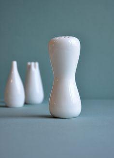 Stig Lindberg sugar, salt and pepper shakers.