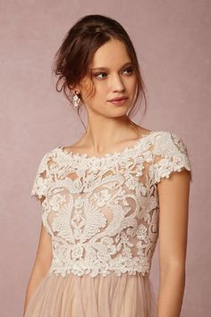 Seville Topper BHLDN $180 to wear over top of any strapless