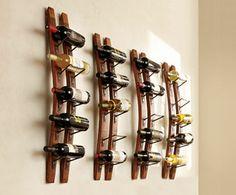 Double Stave Wine Rack