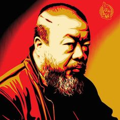 Shepard Fairey Releases Print Tribute To Ai Weiwei