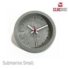Clocroc - Wanduhr  Beton - Modell Submarine Small