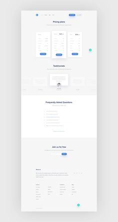 Dribbble - pp_home_f.png by Przemysław Bacia Web Design Websites, Web Ui Design, Page Design, Graphic Design, Flow Chart Design, Pricing Table, Ui Web, Website Design Inspiration, How To Plan