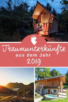 The most beautiful accommodations from 2019 – LandReisen. Beautiful Hotels, Most Beautiful, Reisen In Europa, To Go, Around The Worlds, Cabin, Explore, Country, House Styles
