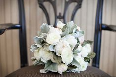 Winter bouquet - Repinned by Marco Island Florist #MarcoIsland #Naples Floristg #GlacierGray