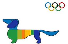 Did you know... The first Olympic Mascot was Waldi the dachshund, used during the 1972 Summer Olympics in Munich.  Nope, I didn't know that!