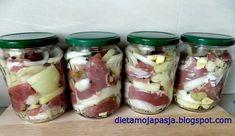 Tasty, Yummy Food, Ham, Sausage, Mason Jars, Cheese, Fish, Canning, Hams