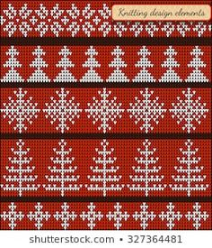 Set of design elements of Christmas star and snowflake, Christmas trees, Fair Pattern sweater design on the wool knitted texture. Christmas Star, Christmas Trees, Xmas Sweaters, Sweater Design, Design Elements, Snowflakes, Tapestry, Cook, Texture