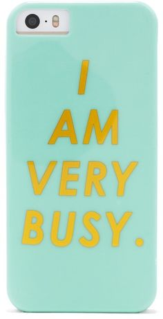 I Am Very Busy iPhone 5/5s Case Cute Phone Cases, 5s Cases, Iphone Wallet Case, Iphone Case Covers, Very Busy, Iphone Cases Disney, Phone Accessories, Card Holder, Business