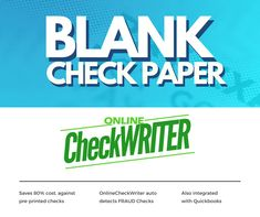 Cheap Checks - Switch to Blank check paper & Save of Pre-Printed - I Think it`s very good, it`s excellent service, I recomend it Payroll Checks, Check Mail, Blank Check, Writers Help, A State Of Trance, Writing Software, Free Checking, Custom Website Design, Business Checks