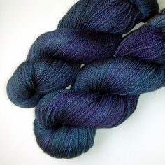 More from Julie Spins. I <3 this midnight blue.
