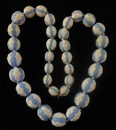Wedgewood beads necklace***